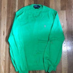 Polo Ralph Lauren Green Sweater Size L